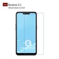 Tempered Glass Screen Protector Anti Gores Kaca For Oppo Realme C1 6.2