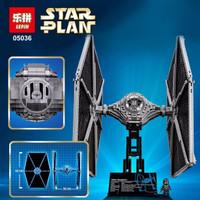 Mainan Cowo Balok Susun Star Wars Tie Fighter Brick Lepin 05036