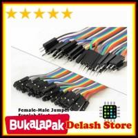 JUAL Female male kabel jumper 10 buah NEWW