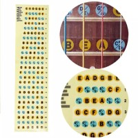 Guitar Fretboard Note Labels Fret Sticker For Electric Guitar Bass oce