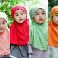 (XS - S) Jilbab Anak HILZEA Aisha Syiria Instan