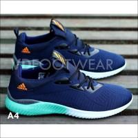 Item Terlaris Sepatu Adidas Pria Alphabounce 2 Sneakers Casual Cowok