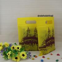 Tas Kain Mecca Kecil Haji Umroh Isi 12 pcs/Tas Souvenir/Paper Bag