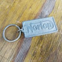 Gantungan kunci keyring Motor Inggris Norton Motorcycle vintage jadul