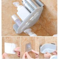 HH032 Rak Segitiga Tempat Sabun Sudut Toilet Bumbu Dapur Corner Shelf