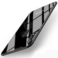 Case VIVO Y12 Backcase Glass Anti Gores Kaca Tempered
