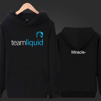 Jaket / Zipper / Hoodie Team Liquid Miracle - Hitam