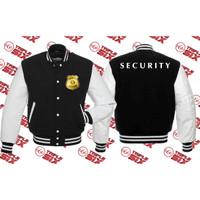 Jaket Varsity Security Officer keren Sekurity