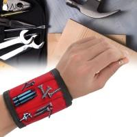 Gelang Tangan Lilit Magnetik Portable Bahan Polyester untuk Wanita