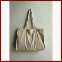 Tote bag kanvas / Tas polos putih gading UKURAN : P=45, L=10, T=35