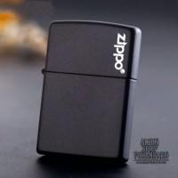 Korek api zippo kw super grade ori matte black edition