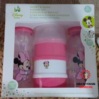 3 in 1 Botol Susu Dot Minnie/ Mickey Mouse Disney ORI isi 3