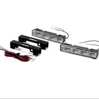 LAMPU LED BUMPER DRL 4 LED NEW MODEL YARIS 1SET ISI 2 DRL4
