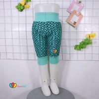 Legging Kerut Motif 3-12 Bulan/ Celana Bayi Anak Perempuan Ketat Adem