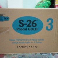 S26 Procal Gold tahap 3 1600gr (1 dus isi 6 kaleng)