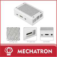 Metal Case Raspberry pi 3 model b+ Casing Aluminium Alloy Silver Grey