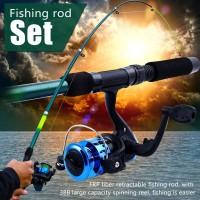 Souyilang Set Joran Pancing Fishing Rod and Reel