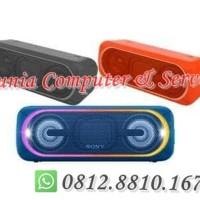 Sony Bluetooth Portabel Srs-Xb40 Poweful Bass - Speaker Wireless Xb 40