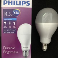 Lampu bohlam LED Philips Phillips 14,5w 14,5watt 14,5 watt 14.5w 14.5
