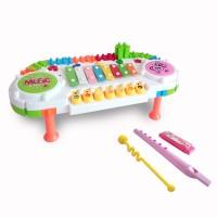 Mainan Musikal Anak Elektronik Piano Learn Piano Building 0291