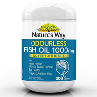Natures Nature Nature's Way Fish Oil 1000 mg 1000mg Odourless Odourles