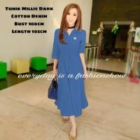 Tunik Millie Dark [Dress 0141] QG7 KP19