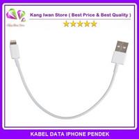 Kabel Data Iphone 5 6 Pendek Untuk Power Bank