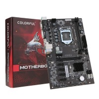Colorful CH81ABTC V20 Motherboard Systemboard untuk Intel H81Socket