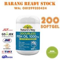 RdA Natures Way Odourless Fish Oil 1000mg - 200 softgel