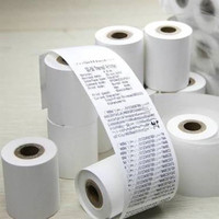 Kertas Thermal Kasir Struk Paper Roll 58x40 mm POS Receipt Printer