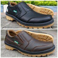 Sepatu Kulit Asli Pria Casual Mewah