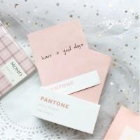 250Sheets Pantone Basic Memo Paper City Color Card NoteTime Manag