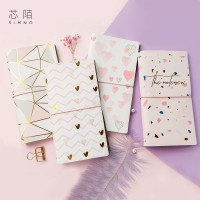 Traveler s Notebook Pink TN Diary Grid Monthly Bujo Planner