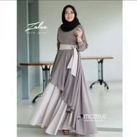 Pakaian Baju Busana Muslim Wanita Dress Maxi ZALEA Gamis Terbaru