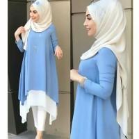 Pakaian Baju Busana Muslim Atasan Wanita Tunik KALITA Terbaru Termurah