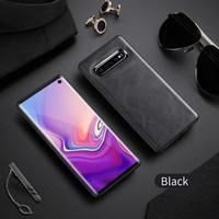 Silicone X Level Samsung S10 Plus New Leather Case Series ORI casing