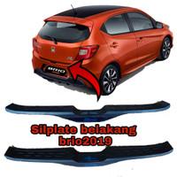silplate belakang All new brio 2019