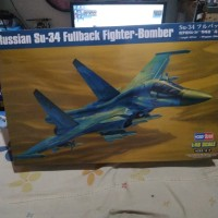 pesawat SU-34 fullback fighter bomber russia 1/48 Model Kit Hobby Boss