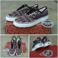 Sepatu Vans Authentic inca batik Original Premium Import Waffle DT