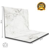 Alas Foto Lipat Marble 42x30 cm / Background Foto marmer (ML-01)