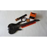 Gitar Listrik Ibanez S Series Hitam Paketan