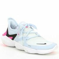 Nike Free RN 5.0 Hyper White Pink Running Shoes Woman Premium Original