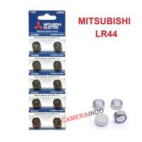 Battery Mitsubishi LR44 AG13 button cell kancing batre