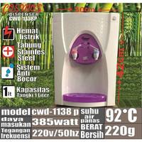 COSMOS CWD 1138 Dispenser air galon Hot Normal water dispenser murah