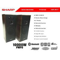 SHARP CBOX B 635 UBO Active Speaker. bluetooth. FM Radio. Aktif Speak