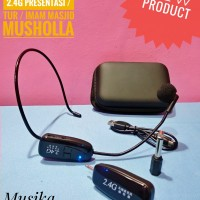 Microphone Mic Clip On Wireless 2.4G untuk Presentasi