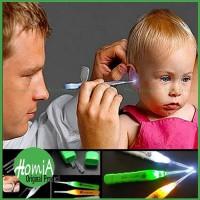 Pembersih Telinga Newest Flashlight Earpick / Alat Korek Kuping