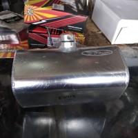 tangki drag bike depan OVAL B pro racing bahan almu alumunium tanki te