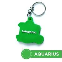 HOT SALE Gantungan Kunci Tokopedia - Aquarius Terjarmin