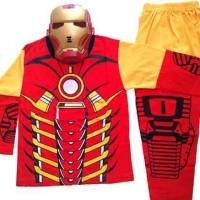 HOT SALE Baju Anak Kostum Topeng Superhero Iron Man Terjarmin